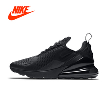 Original New Arrival Authentic Nike Air Max 270 Men's Comfortable Running Shoes Sport Outdoor Sneakers Good Quality AH8050-005