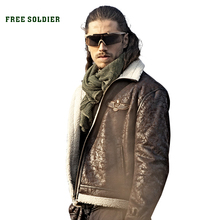 FREE SOLDIER outdoor sports tactical military mens uniform jacket pilot cloth for camping or hiking large size