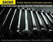 32 Мм Гаечного ключа Ratchet Набор Передач Кольцо Гаечный ключ Ручной Инструмент для Гайка Набор Ключ