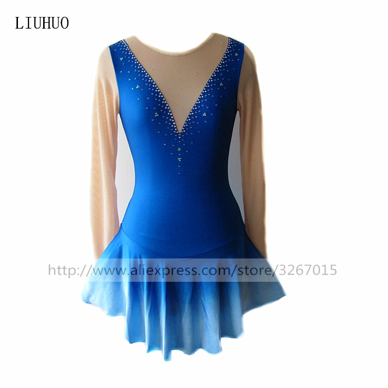 فساتين التزحلق على الجليد لباس المرأة - منتجات جديدة