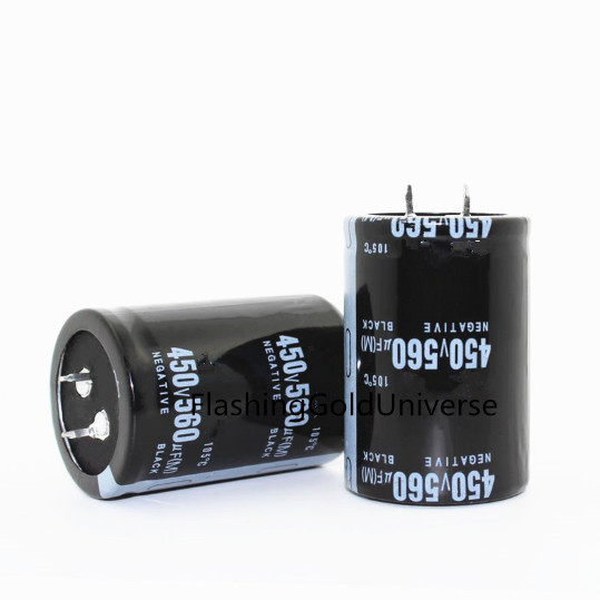 12PCS  2PCS 450 V 560 UF 560 UF 450 V 450v560uf 560uf450v condensador electrolítico volumen 35X30X50 MM 50 MM de la mejor calidad
