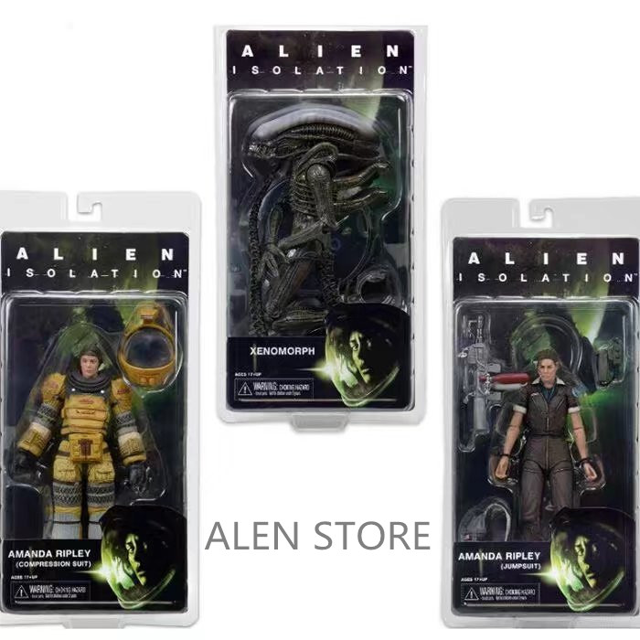 ALEN NECA Aliens KANE DOG ALIEN BISHOP PVC Action Figure Collection Model Toy 7 18CM neca planet of the apes george taylor clothed pvc action figure collection model toy 8 20cm