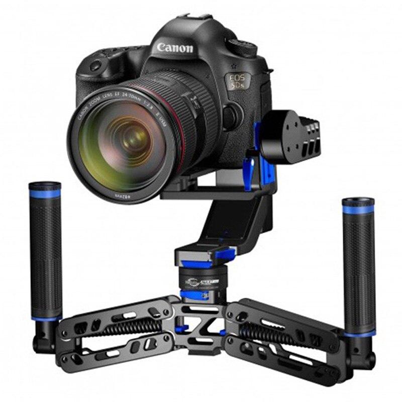ФОТО nebula 4200 pro / 4200 lite / 4200 5 axle handheld brushless 32bit camera gimbal for canon 5dsr/5d3 w/ handle pk nebula 4000&ds1