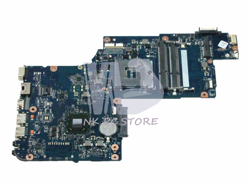 все цены на H000043520 Main Board For Toshiba satellite C875 L870 L875 Notebook PC System board / Motherboard HM70 GMA HD4000 DDR3 онлайн