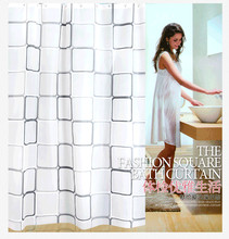 2016 NEW Boutique High Quality Modern City Night View Bathing Waterproof Bathroom Fabric Shower Curtain Inner