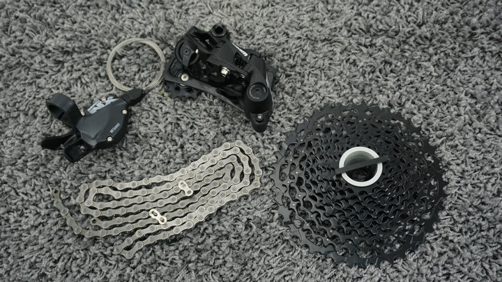 <font><b>SRAM</b></font> NX <font><b>11Speed</b></font> Group set Trigger Shifter Rear Derailleur image