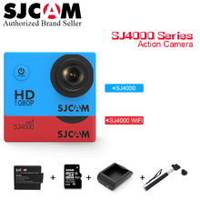 100% Original SJCAM SJ4000 Series 1080P HD 2.0″ Screen Sj Cam SJ4000 & SJ4000 WIFI Action Camera Waterproof Camera Sport DV