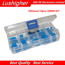 Variable Resistor Potentiometer-Kit Multiturn Trimmer 3296 Electronic High-Precision