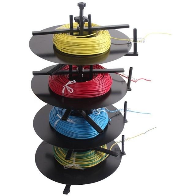 1 zu 4 Schicht Dreh Drähte Feeder-Tools Kabel Coil Fütterung Maschine