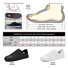 Men's Casual Shoes Classic Black and White Sneakers