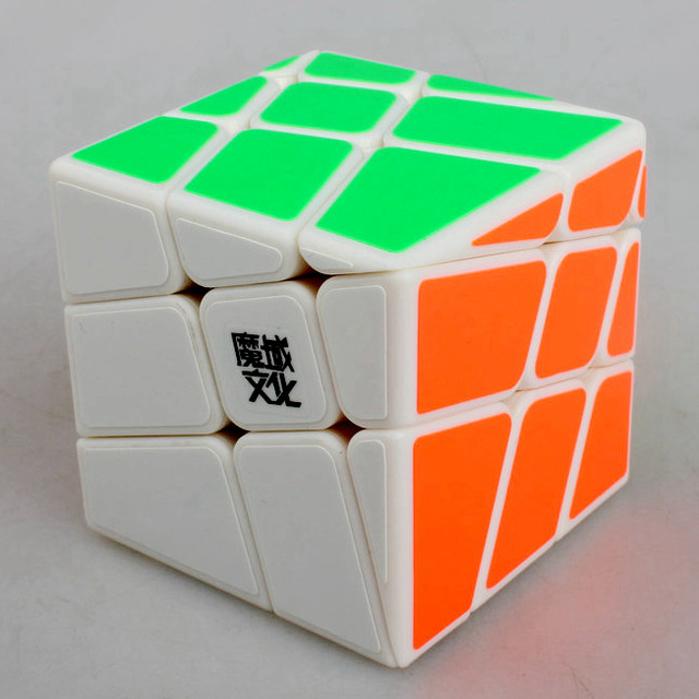 Yongjun Moyu Crazy Wind-fire Rings 57mm 3x3x3 Magic Cube Speed Puzzle Fisher Skew Cubes Children Kids Educational ToysPuzzles & Games