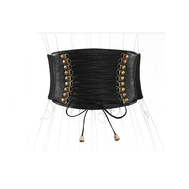 Wide Waist Belt Female Elastic Tassel Decoration Dress Accessories Belt Cummerbunds Waist 65-85cm 100pcs/lot DHL Free Shipping