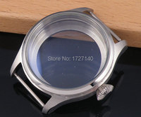 47mm stainless steel CASE steel fit 6497 6498 hand winding movement C019 6498 case movement  -