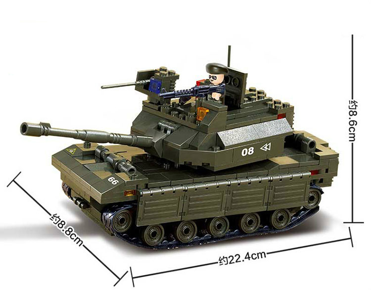 Model building kit compatible with lego military Main Battle Tank 3D blocks Educational model building toys hobbies for children aircraft carrier ship military army model building blocks compatible with legoelie playmobil educational toys for children b0388