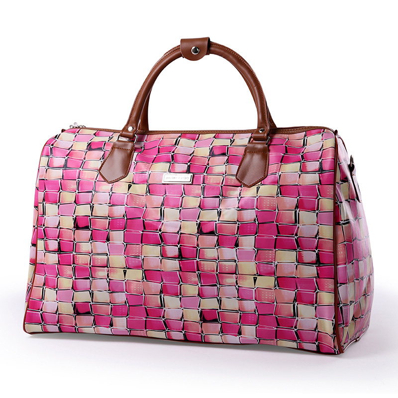 Travel-Bag Leisure-Luggage-Bag Baggage Large-Capacity Portable Women And PU For Tide