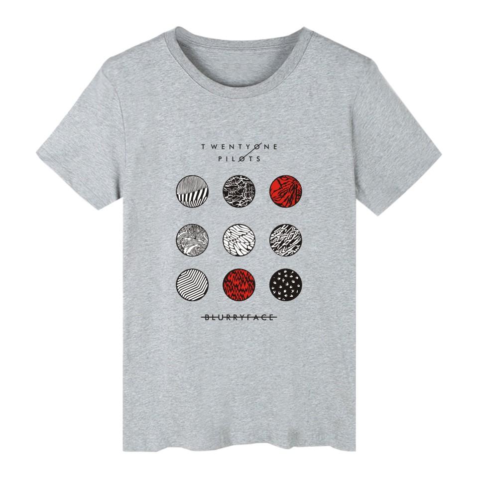 HTB1ClxbPFXXXXXTXVXXq6xXFXXXX - New Twenty One Pilots T Shirt Cotton Short Sleeve Tops Plus Size 4XL