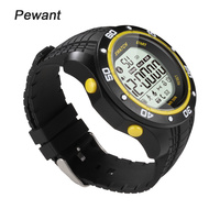 Pewant IP68 Waterproof Smart Watch For Windows Android IOS Phone Smartwatch Outdoor Sport Swim Clock For
