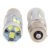 Itimo 1 par branco turn signal luz universal dc12v carro Lâmpada LED DRL Carro de Travagem Luz de Marcha Atrás 1156 2835 21SMD carro-styling
