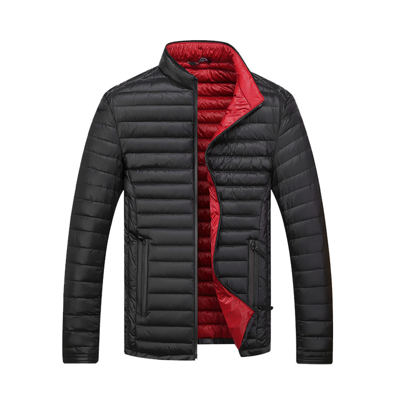 Men's Clothing Plus Size Men Winter Brand Down Jackets Parkas Winter Down Coat 90% White Duck Down Jacket Ultra Light Men Hooded Outerwear Coat Elegant In Style