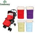 Carrinho de bebê Saco de Dormir Para Recém-nascidos Envelope Fleece Inverno Sleepsack Para Carrinho De Bebê Transporte Infantil Fleabag Grosso Para Carrinho De Bebé