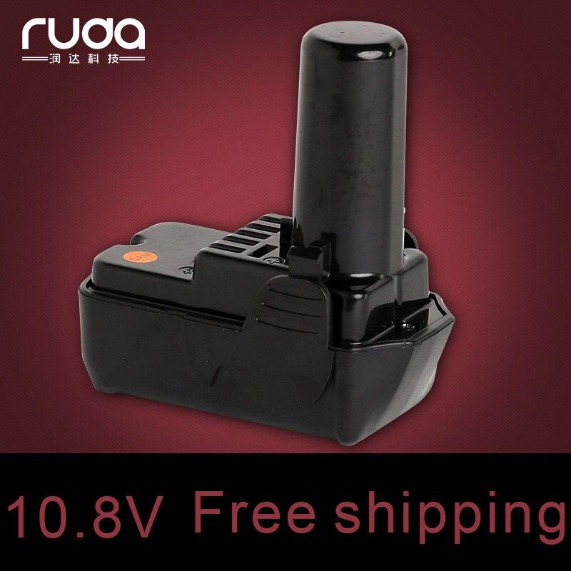 for Hitachi 10.8V 2000mAh power tool battery Li-ion 329369 329370 329371 329389 331065 BCL 1015 BCL 1030 BCL 1030M BCL1030A