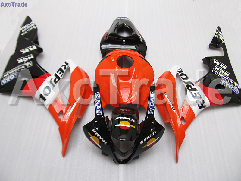Moto Injection Mold Motorcycle Fairing Kit For Honda CBR600RR CBR600 CBR 600 RR 2007 2008 F5 Bodywork Fairings Custom Made C115 gray moto fairing kit for honda cbr600rr cbr600 cbr 600 f4i 2001 2003 01 02 03 fairings custom made motorcycle injection molding