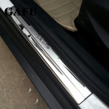 For Ford Focus 2 Focus 3 Mk3 Door Sill Scuff Plate Guards Door Sills Strip Protector Stickers Car Accessories недорого