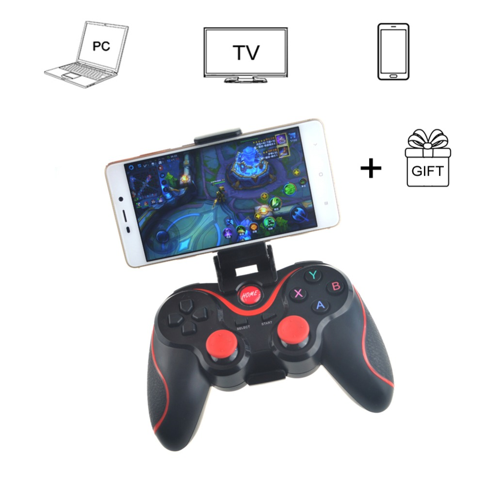 New Terios T3 Wireless Joystick Controller Gamepad Bluetooth Included Stand Holder For Free All Free Shipping