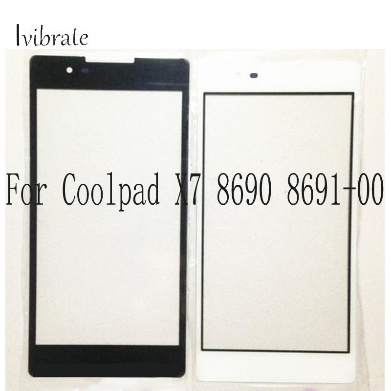 A+Quality For Coolpad X7 X 7 Touch Screen Cool pad 8690 8691-00 Digitizer TouchScreen Glass panel Without Flex Cable replacement