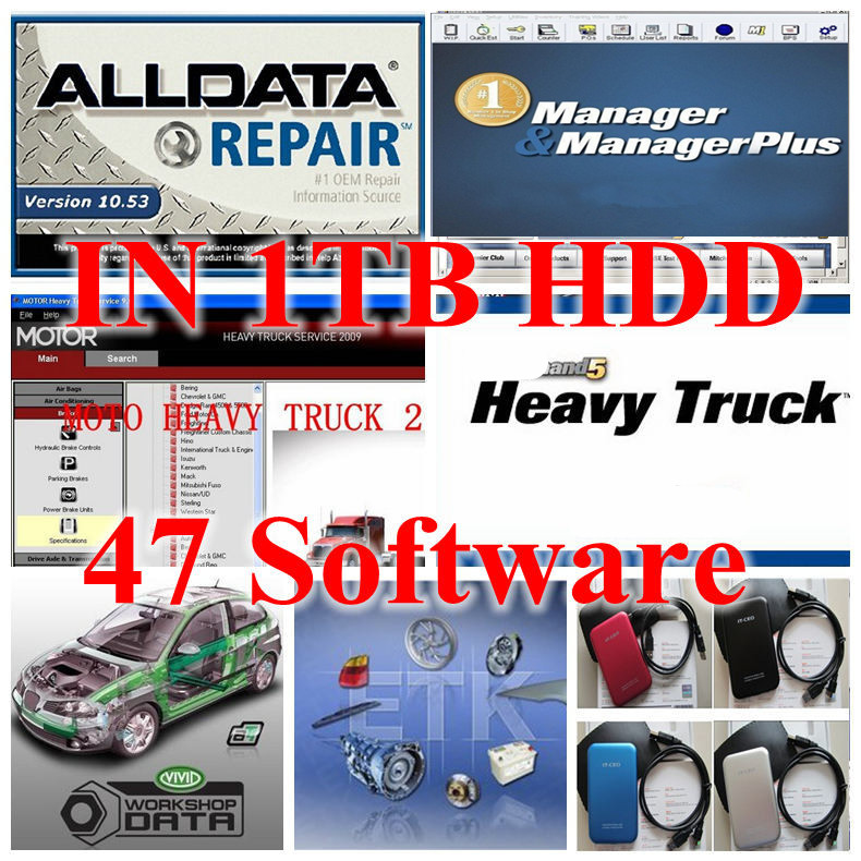 2017 auto repair software all data 1TB HDD 10.53 alldata and mitchell software 2015 full set 47in 1tb new usb hard disk Best 2017 alldata auto repair software v10 53 all data and mitchell software 2015 161g atsg moto heavy truck 4in1tb hdd