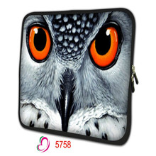 owl waterproof Soft Neoprene 10.1 13 13.3 15.6 17.3 Inch Universal Laptop Sleeve Bag Case Computer Cover Pouch NS-001
