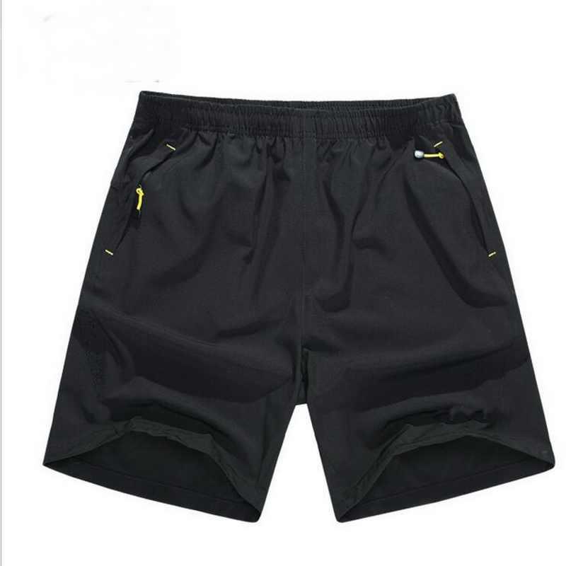 VXO 2019 однотонные мужские шорты летние мужские быстросохнущие шорты 8XL повседневные мужские пляжные шорты Дышащие Короткие Большие размеры