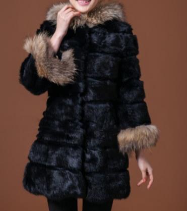Taille Furry Plus 2018 D'hiver Artificielle Faux Outwear La Fourrure Femmes De Chaud Veste Clobee Q915 Femme Manteau OCqdxPww8