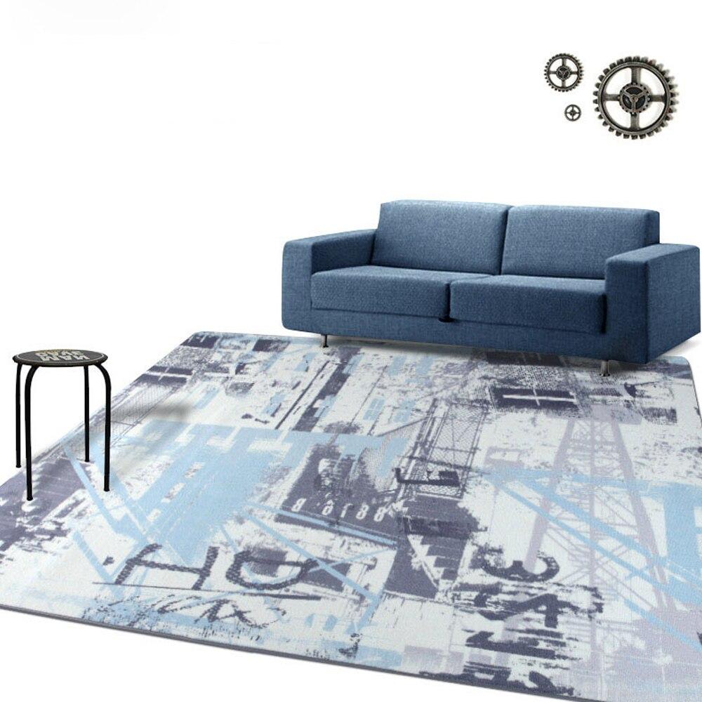 Retro Bedroom Chairs Persian Carpet Bedroom Blue Grey Bedroom Colour Scheme Bench Seat For Bedroom: Retro Personality Big Carpet Living Room Bedroom Rugs Slip