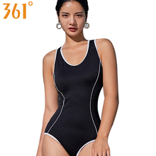 361 Swimming Suit Women One Piece Indoor Swimsuit Black Bikini Backless Bathing Suits 2018 Sports Swimwear Sexy Monokini