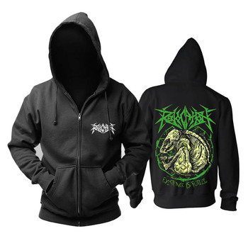 Bloodhoof Revocation death metal  mucis TOP  cotton new hoodie Asian Size