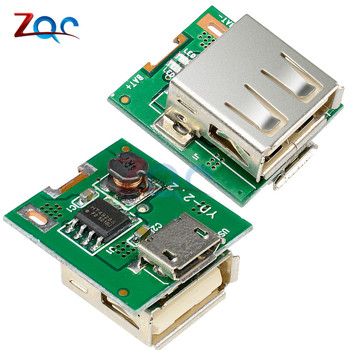 2 sztuk DC 5V zwiększona moc moduł ładowania baterii litowej płyta ochronna Boost konwerter wyświetlacz LED USB dla DIY ładowarka 134N3P