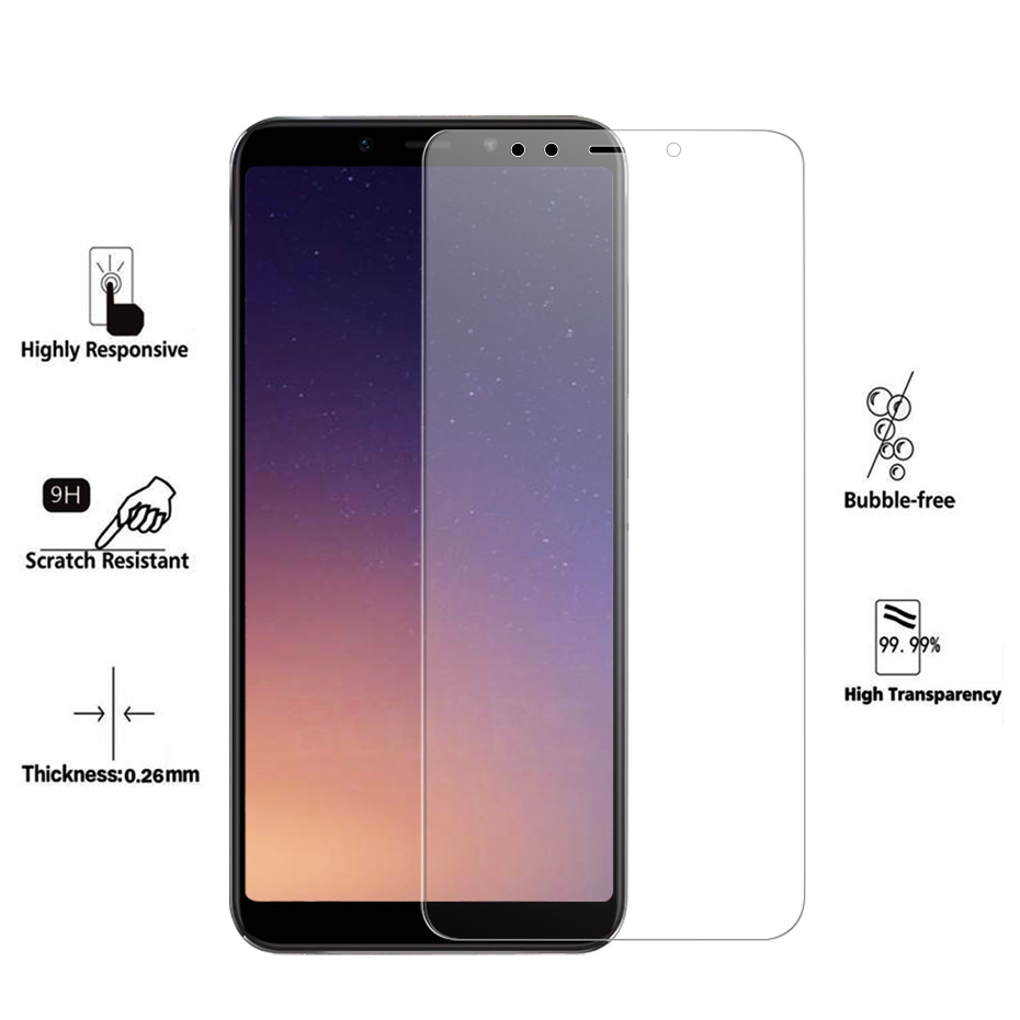 Image 2 - 3PCS/lot For Glass Xiaomi Mi A2 Lite A2 Screen Protector Tempered Glass For Xiaomi Mi A2 Lite A2 Protective Glass Phone Film-in Phone Screen Protectors from Cellphones & Telecommunications