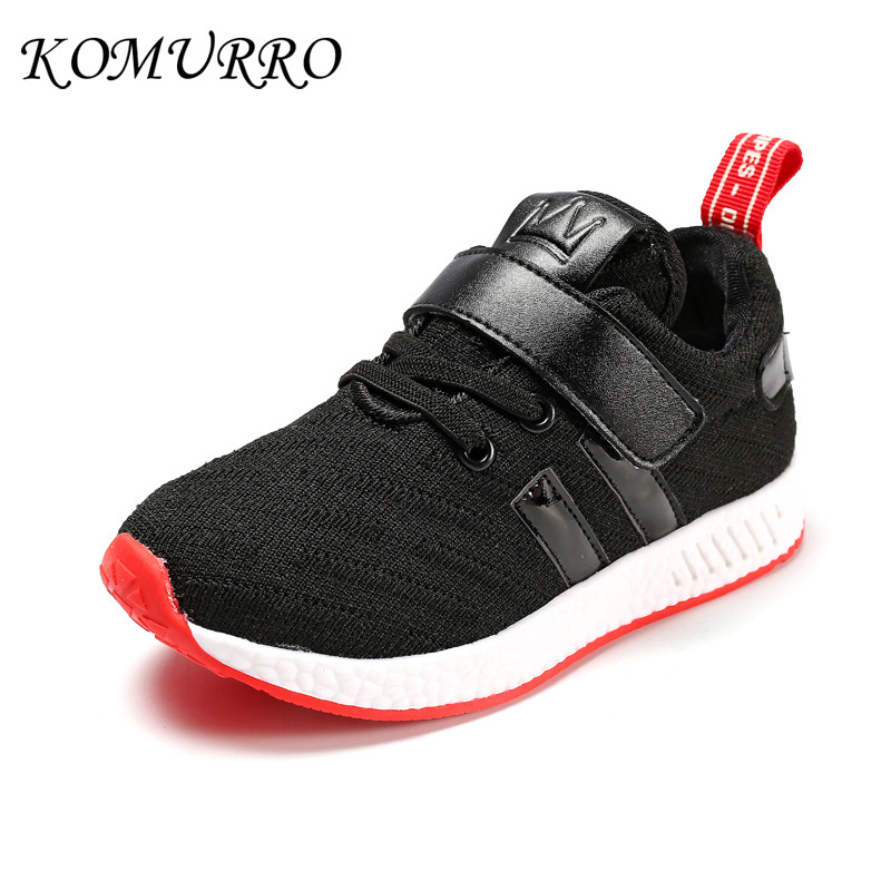 Kid Shoes Autumn Sneakers Girls Solid Children Breathable Running Sneakers Boys Soft Bottom Children Girl School Shoes Spring