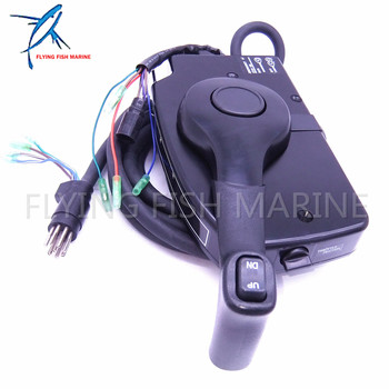 881170A15 Boat Motor Side Mount Remote Control Box With 8 Pin for Mercury Outboard Engine PT, Free Shipping