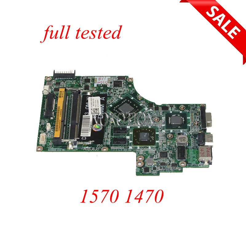 купить NOKOTION For Dell inspiron 1570 1470 Laptop Motherboard DA0UM2MBAC0 CN-04580M 04580M 5GFXR MAIN BOARD HD4330 Video card онлайн