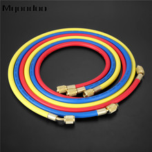 3Pcs 60 R410a AC Refrigeration Charging Hoses R134A R12 R22 R502 HVAC 1/4 SAE Hose Fittings 800PSI Air Conditioning Mayitr