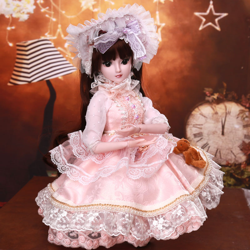 IN STOCK DHL XYTMC 60 CM DIY bjd Limited edition dan Fashion Princess Dolls Barbies Dressing Dolls girl Toy Prom Dress Gifts шапка dan