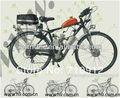 2 Инсульта 49CC Газа Велосипед Двигатель/Бензиновый Двигатель Для Велосипеда