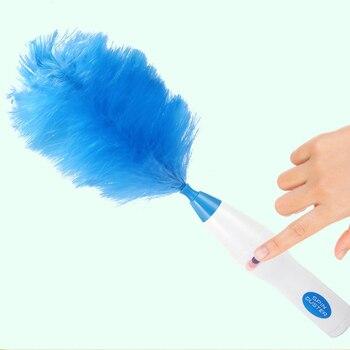ONEUP многофункциональный электрический перо тряпкой пыль щетка для очистки для дом слепой электроники Duster окна книжная полка Чистый инструм...