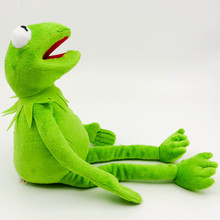 1 шт. 40 см плюшевый Кермит игрушка Улица Сезам куклы-лягушки чучело мягкая игрушка дропшиппинг Рождественский праздник подарок для детей