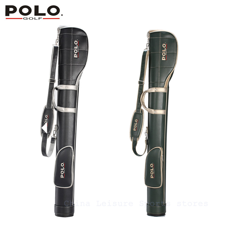 цена на POLO Authentic High Quality Golf Gun Bags PU Waterproof Men Travelling Cover 5-6 Clubs Small 127cm Golf Bag Bolsa De Sport Bag