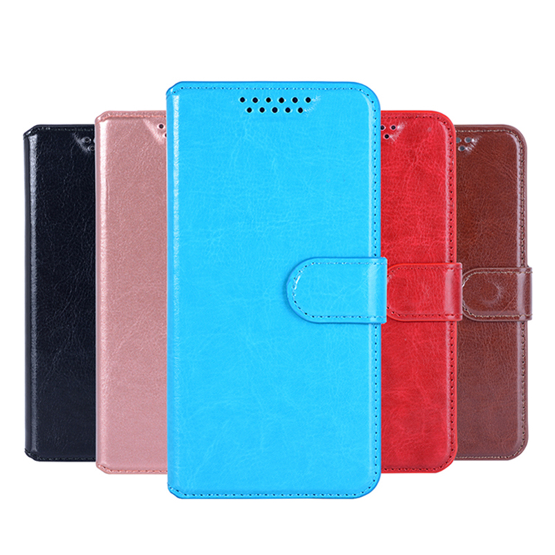 Flip Case For ZTE Q Lux Blade 4 G Leather Cover For ZTE Blade Q Lux 4G / 3G A430 Luxury Cover Mobile Phone Bag coque Fundas