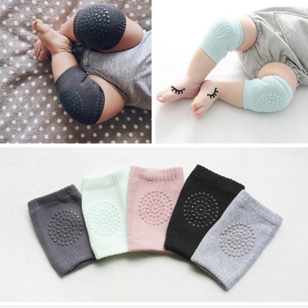 Baby Infants Toddlers Knee Pads Protector Kids Safety Crawling Elbow Knee Protective
