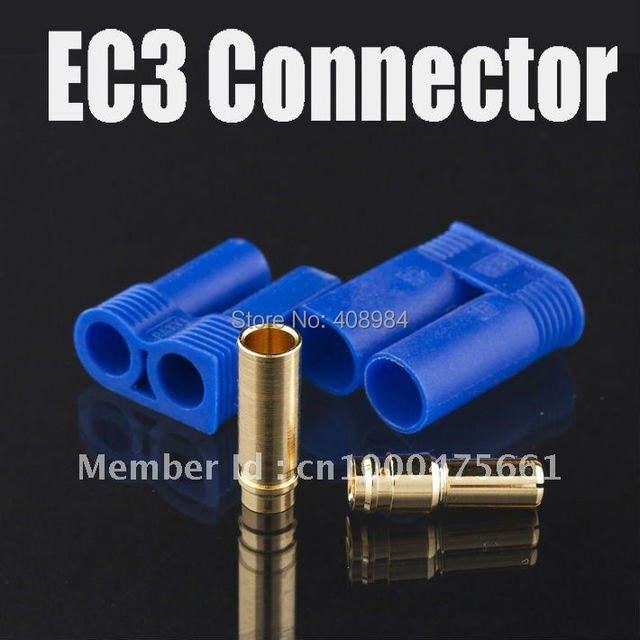 EC3 Female Male Bullet Connector Plugs Battery
